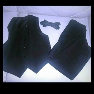Other - Size 7 Toddler formal pants, vest, bow